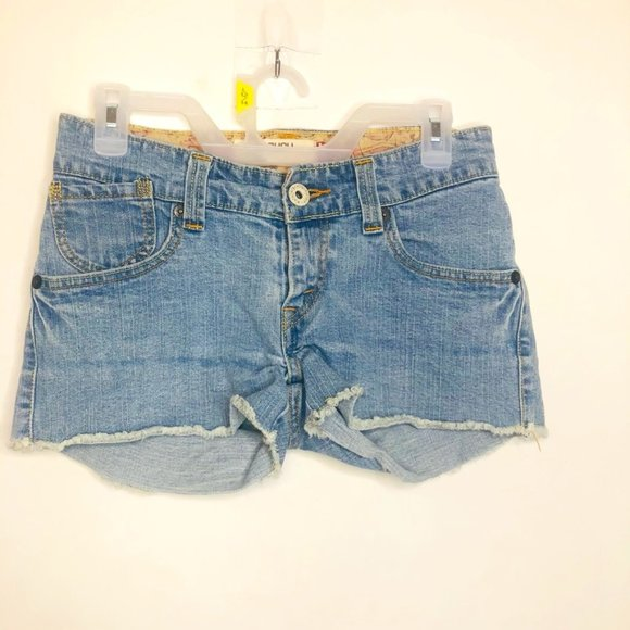 Levis Slouch Cutoff Shorts Size 5